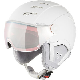 Alpina Jump 2.0 QVMM Casque de ski, white/grey matt
